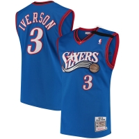Allen Iverson Philadelphia 76ers nba mitchell & ness 1999-2000 authentic джерси баскетбольная майка