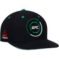 UFC reebok snapback спортивная кепка с прямым козырьком зелено-черная