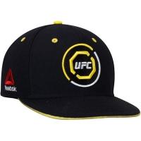 UFC reebok snapback спортивная кепка с прямым козырьком желто-черная
