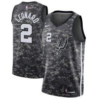 Kawhi Leonard San Antonio Spurs nba nike city edition джерси баскетбольная майка