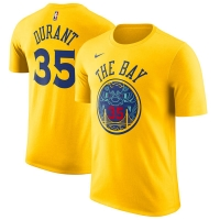 Kevin Durant Golden State Warriors nba nike dri-fit city edition performance баскетбольная футболка