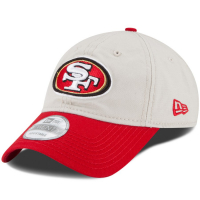 San Francisco 49ers nfl new era спортивная бейсболка светло-бежевая