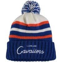 Cleveland Cavaliers nba mitchell & ness script зимняя шапка с помпоном