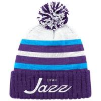 Utah Jazz nba mitchell & ness script зимняя шапка с помпоном