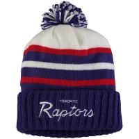 Toronto Raptors nba mitchell & ness script зимняя шапка с помпоном