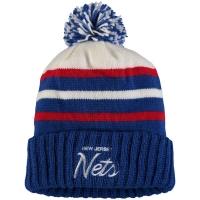 New Jersey Nets nba mitchell & ness historic 77-12 зимняя шапка с помпоном