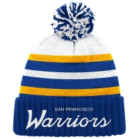 San Francisco Warriors nba mitchell & ness historic 62-71 зимняя шапка с помпоном
