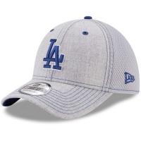 Los Angeles Dodgers mlb new era LA flex neo спортивная бейсболка серая