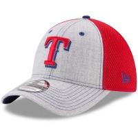 Texas Rangers mlb new era flex neo спортивная бейсболка серая