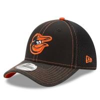 Baltimore Orioles mlb new era flex shadow спортивная бейсболка черная