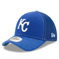 Kansas City Royals mlb new era flex neo спортивная бейсболка синяя