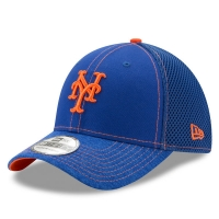 New York Mets mlb new era flex shadow спортивная бейсболка синяя