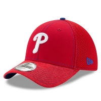 Philadelphia Phillies mlb new era flex shadow спортивная бейсболка красная
