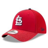 St Louis Cardinals mlb new era flex shadow спортивная бейсболка красная
