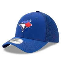 Toronto Blue Jays mlb new era flex shadow спортивная бейсболка синяя