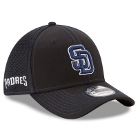 San Diego Padres mlb new era flex neo спортивная бейсболка черная