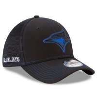 Toronto Blue Jays mlb new era flex neo спортивная бейсболка черная