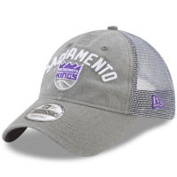 Sacramento Kings nba new era meshback snapback спортивная бейсболка с сеткой серая