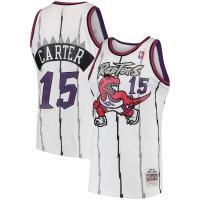Vince Carter Toronto Raptors nba mitchell & ness 1997-98 hardwood classics джерси баскетбольная майка белая
