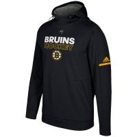 Boston Bruins nhl adidas authentic хоккейная толстовка с капюшоном черная