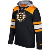 Boston Bruins nhl adidas хоккейная толстовка с капюшоном черная