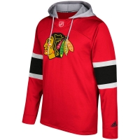 Chicago Blackhawks nhl adidas хоккейная толстовка с капюшоном красная