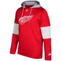 Detroit Red Wings nhl adidas хоккейная толстовка с капюшоном
