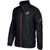 Arizona Coyotes nhl adidas authentic хоккейная легкая куртка ветровка