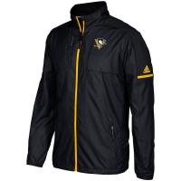 Pittsburgh Penguins nhl adidas authentic хоккейная легкая куртка ветровка