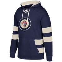 Winnipeg Jets nhl ccm pullover хоккейная толстовка с капюшоном