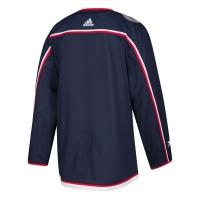 Columbus Blue Jackets nhl adidas authentic хоккейный свитер темно-синий