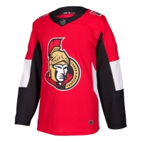 Ottawa Senators nhl adidas authentic хоккейный свитер красный