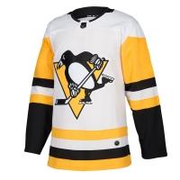 Pittsburgh Penguins nhl adidas authentic хоккейный свитер белый