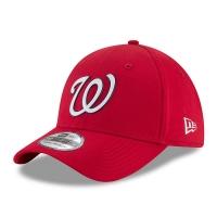 Washington Nationals mlb new era flex practice спортивная бейсболка красная