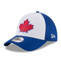 Toronto Blue Jays mlb new era flex practice спортивная бейсболка белая
