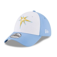 Tampa Bay Rays mlb new era flex practice спортивная бейсболка белая