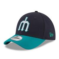 Seattle Mariners mlb new era flex practice спортивная бейсболка темно-синяя