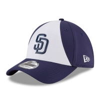 San Diego Padres mlb new era flex practice спортивная бейсболка белая