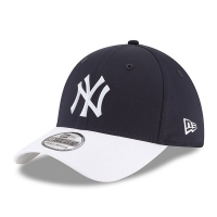 New York Yankees mlb new era NY flex practice спортивная бейсболка темно-синяя