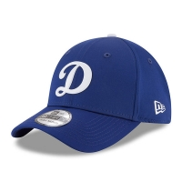 Los Angeles Dodgers mlb new era LA flex practice спортивная бейсболка синяя