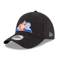 Colorado Rockies mlb new era flex practice спортивная бейсболка черная
