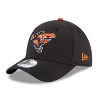 Baltimore Orioles mlb new era flex on-field спортивная бейсболка черная