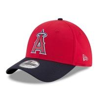 Los Angeles Angels mlb new era flex practice спортивная бейсболка красная