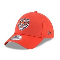 Detroit Tigers mlb new era flex practice спортивная бейсболка оранжевая
