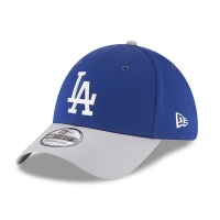 Los Angeles Dodgers mlb new era LA flex road спортивная бейсболка синяя