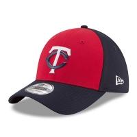 Minnesota Twins mlb new era flex practice спортивная бейсболка красная
