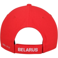 Belarus Hockey nike iihf winter olympics хоккейная бейсболка красная