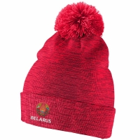 Belarus Hockey nike iihf olympic хоккейная шапка с помпоном красная