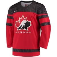 Canada hockey iihf nike джерси хоккейный свитер красный