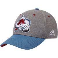 Colorado Avalanche nhl adidas global хоккейная бейсболка серая